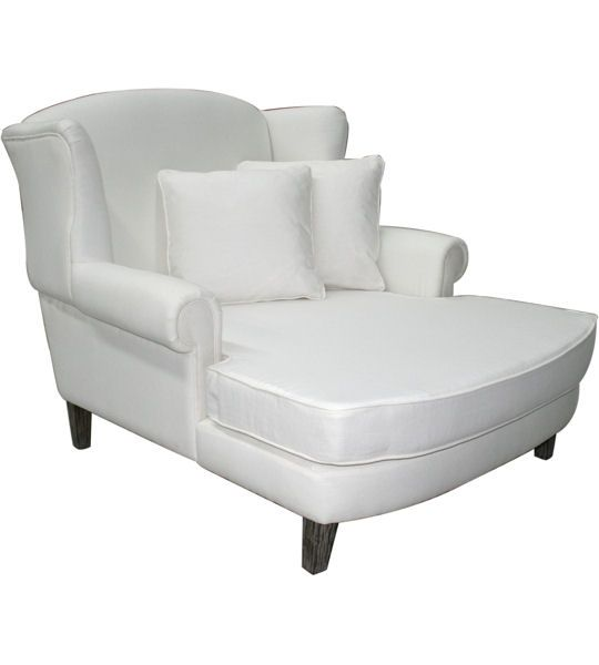 Louis Xv Isabella French Country Chaise Lounge Daybed White