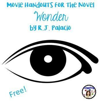 Movie Handouts For The Novel Wonder By R J Palacio Free