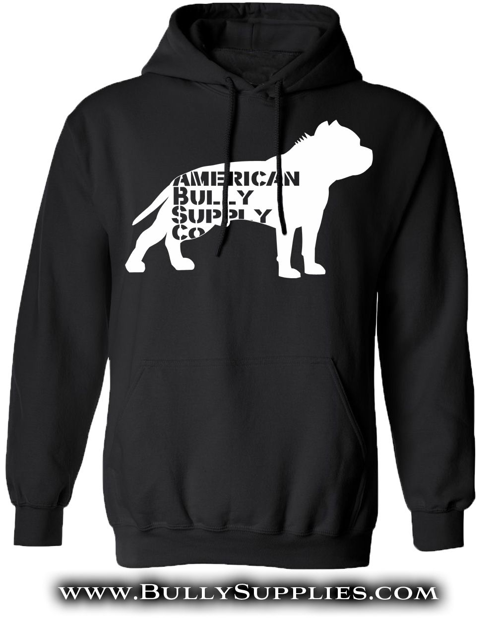 Shirt design supplies - American Bully Supply Co Logo Hoody Available In 6 Colors Sizes Sm Thru 5x