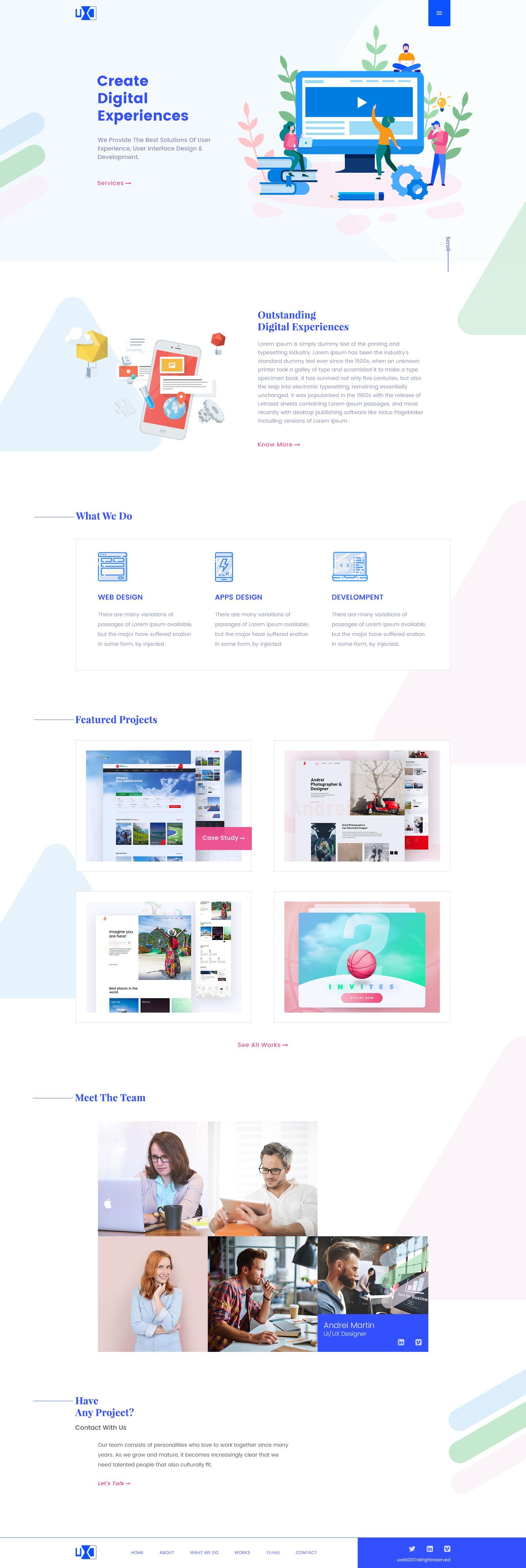 Uxd agency web web u webdesign pinterest ui ux ux design and