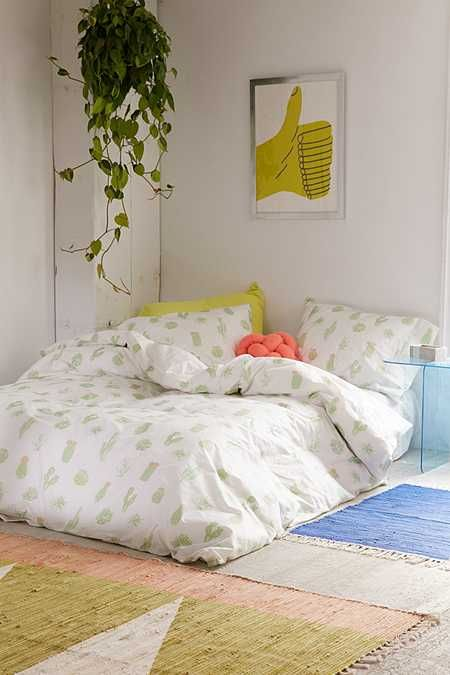 Cactus Icon Duvet Cover   Home thing\'s and decoration   Pinterest ...