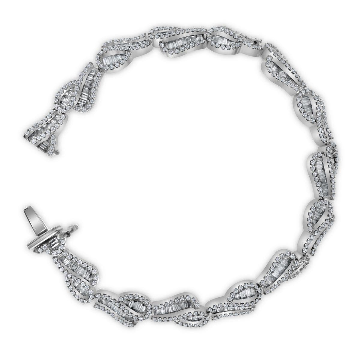 5 1-4CT-Diamond FASHION BRACELET