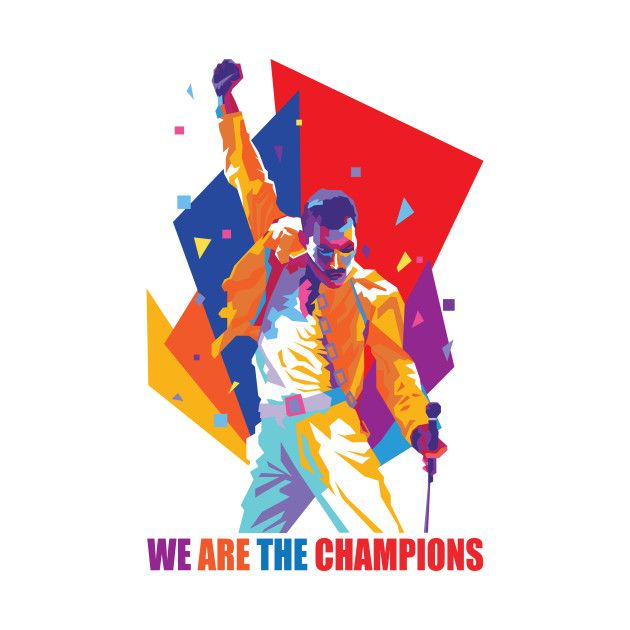 6e4b1d44f Check out this awesome 'We Are The Champions' design on @TeePublic ...