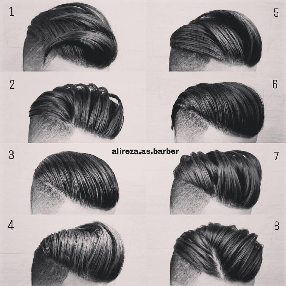 "Photo of Gefällt 6,935 Mal, 136 Kommentare – MEN'S HAIR STYLES & FASHION (@menshairworld) auf Instagram: ""@alireza.as.barber – Which one is your favourite?! Tag A Friend➡Comment…"" #beardfashion"