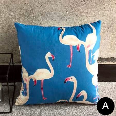 Flamingo Decorative Pillows For Couch Pink Home Goods Throw