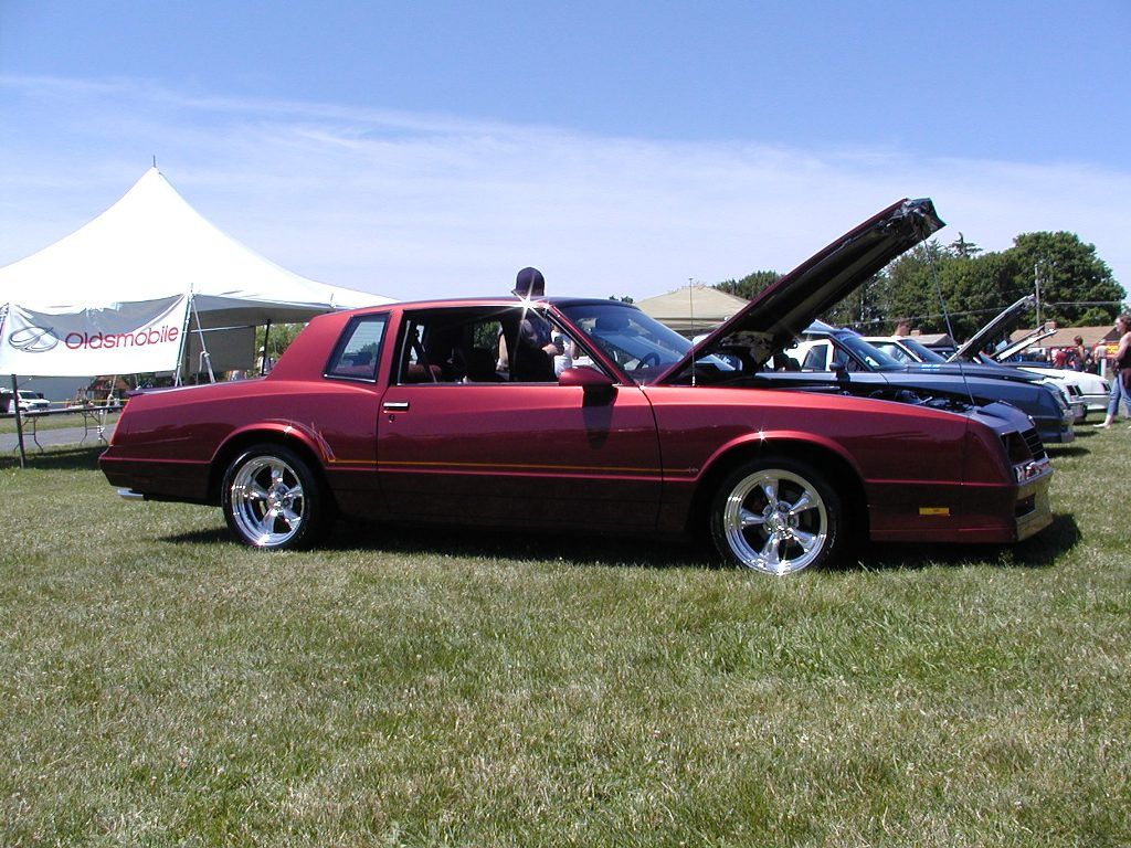 Purple 87 monte carlo monte carlo ss this maroon monte had 17 torque thrusts