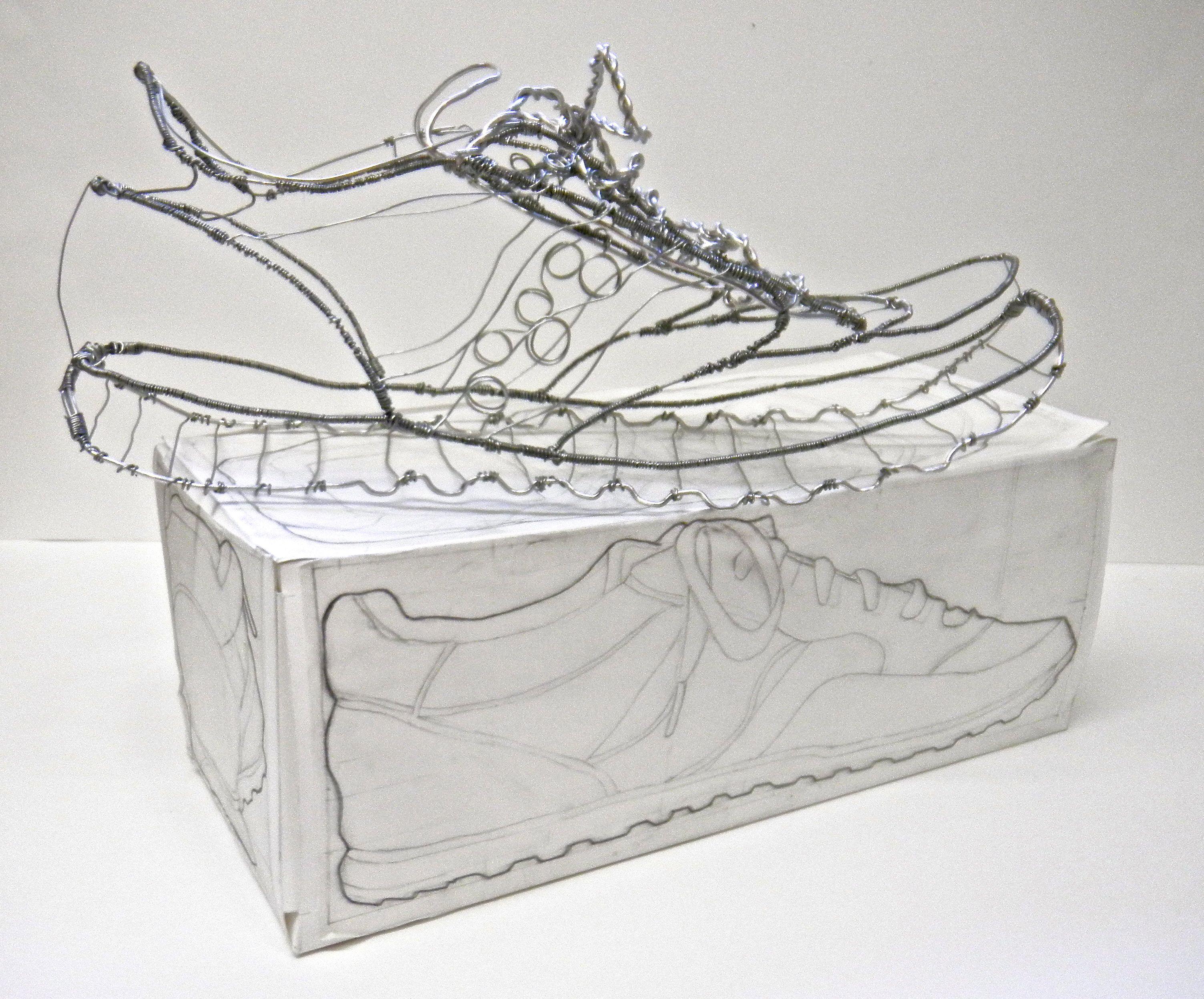 3D wire shoe | Three-Dimensions | Pinterest | 3d