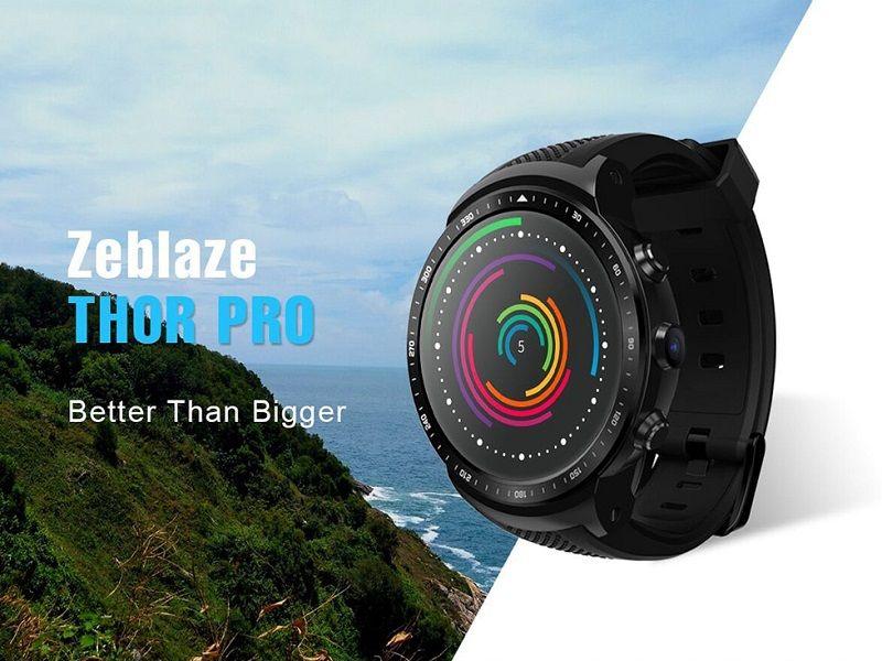 Zeblaze Thor Pro Un Reloj Inteligente Con Acceso A Redes Moviles