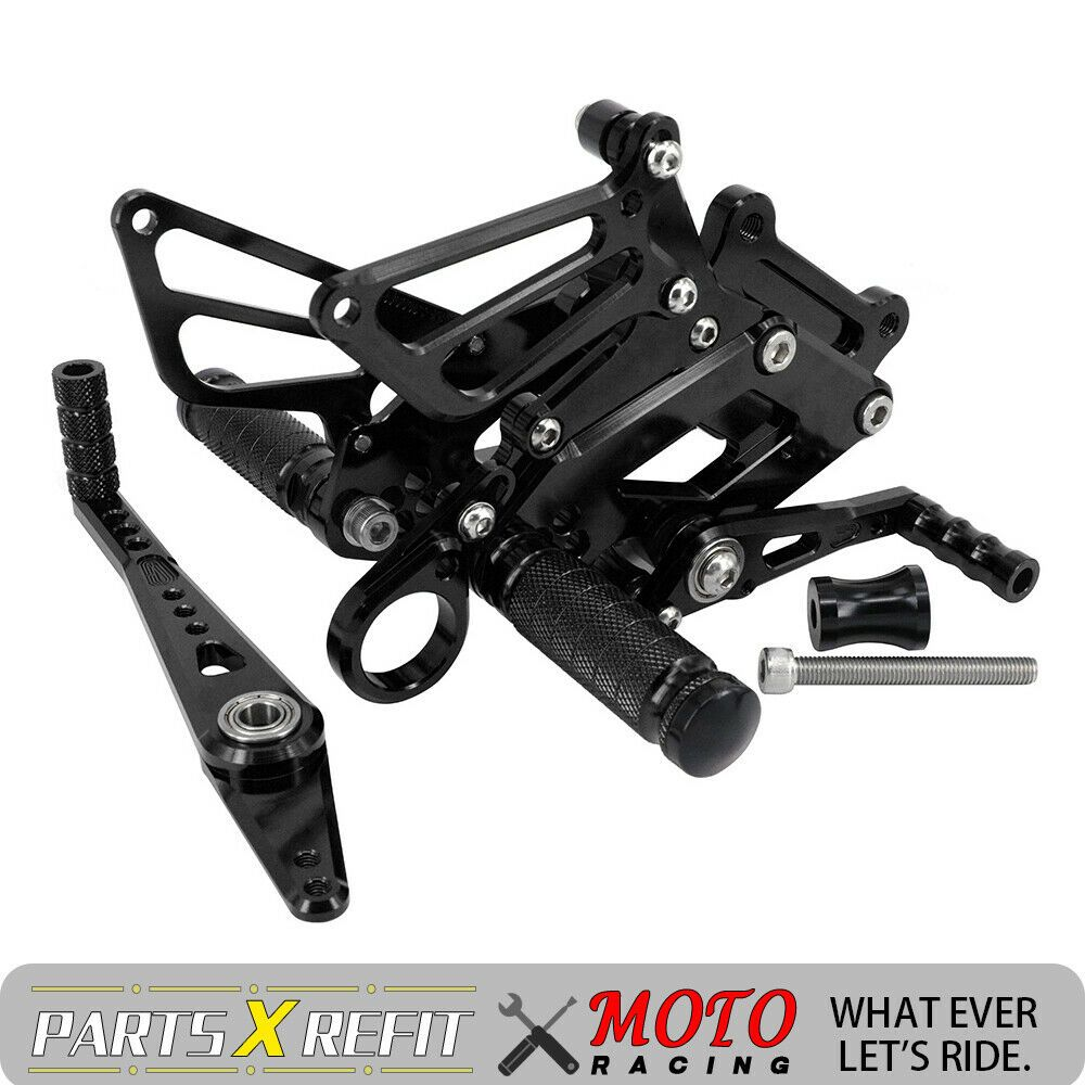 Rearsets Rear Sets Footpegs CNC Adjustable For Bmw S1000RR 2015-2017