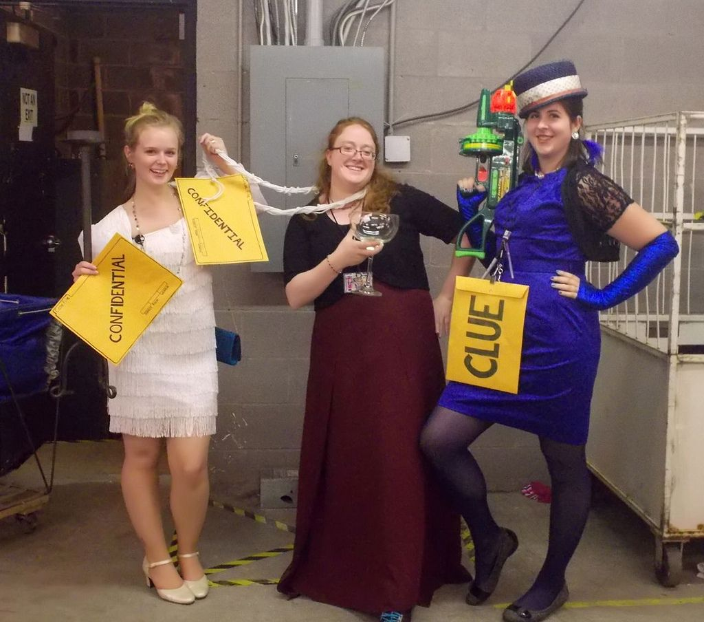 clue game halloween costumes using goodwill finds | halloween