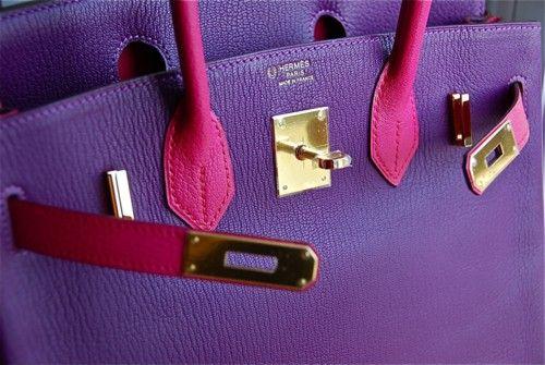 Purple Hermes Birkin
