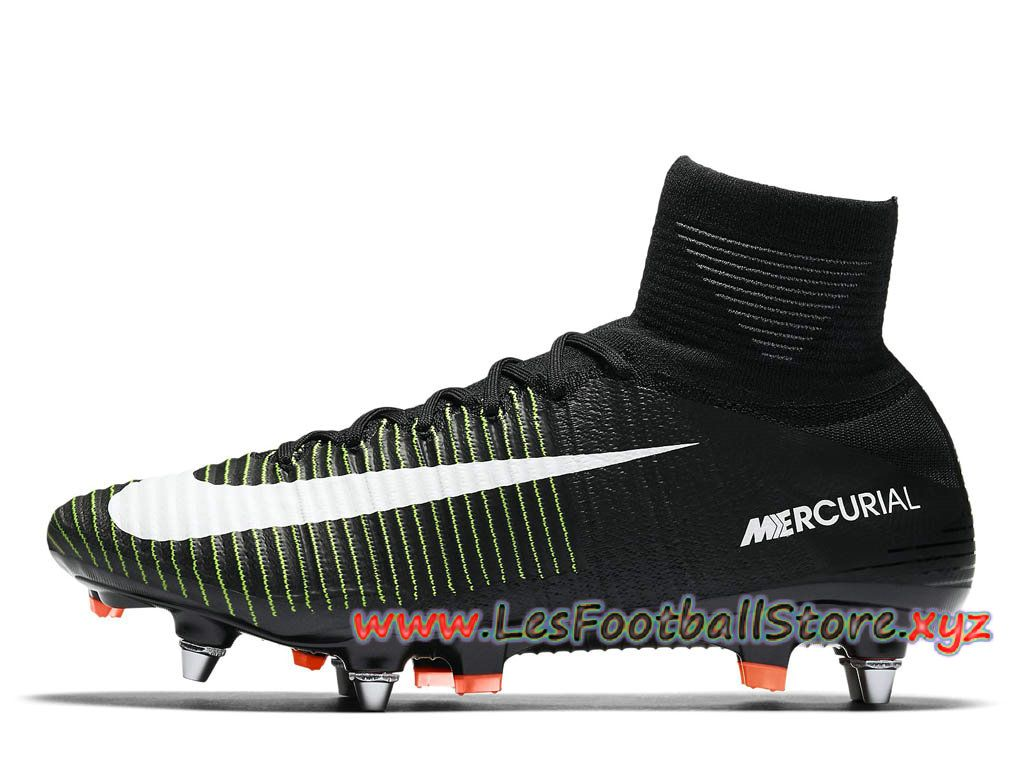 cheap for discount 1332f 98dc1 Nike Mercurial Superfly V SG-PRO Chaussure de football à crampons pour  terrain gras pour