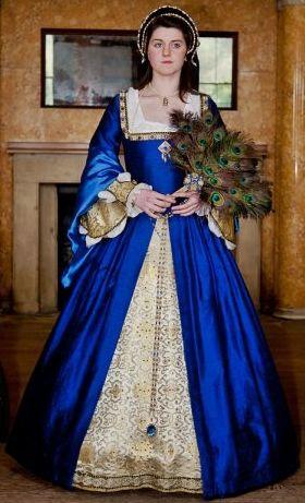 Abiti Da Cerimonia Ren 80.Gorgeous Colour Love The Sleeves Historical Dresses Tudor