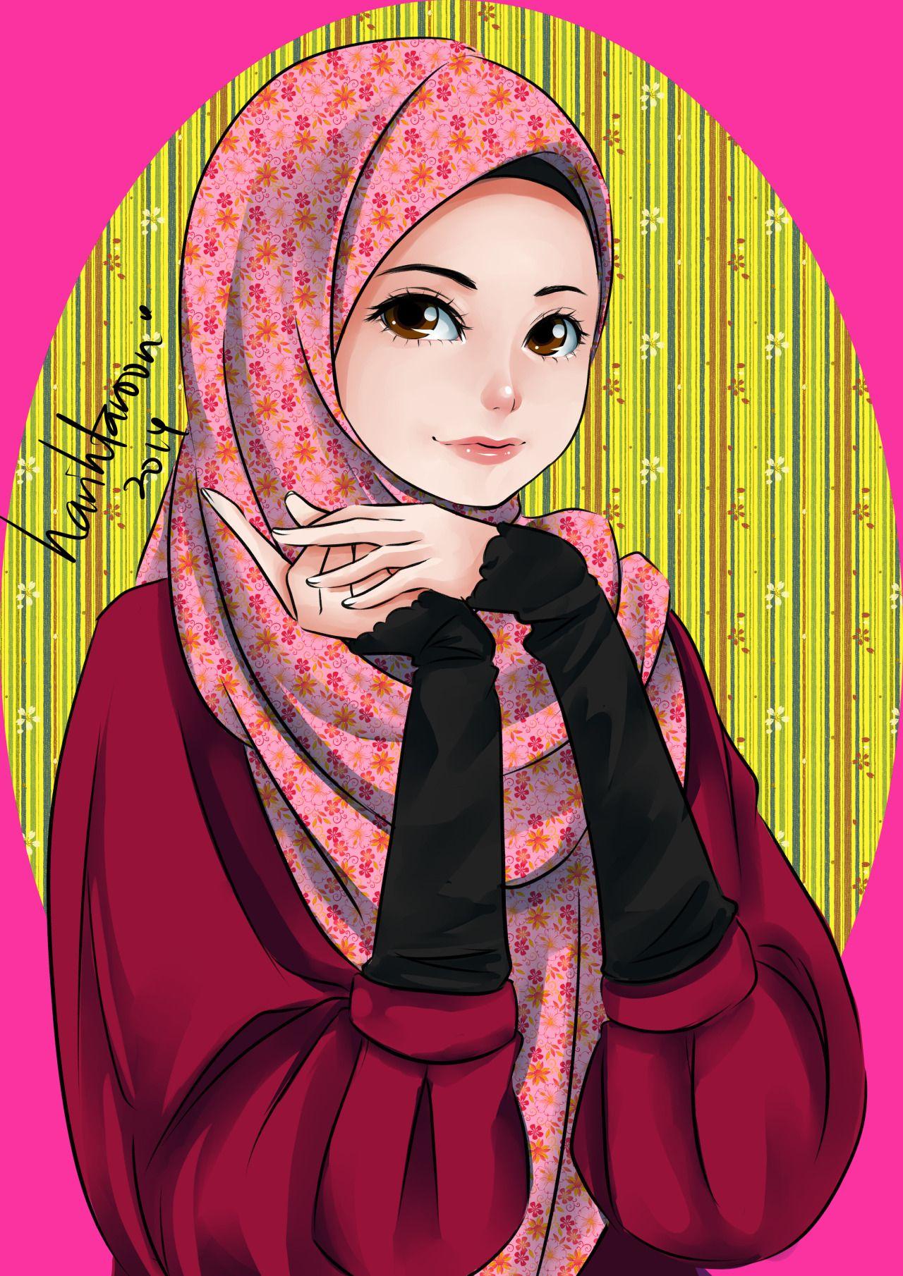 Ana Muslim fan art… tool Paint tool sai ana muslim has a
