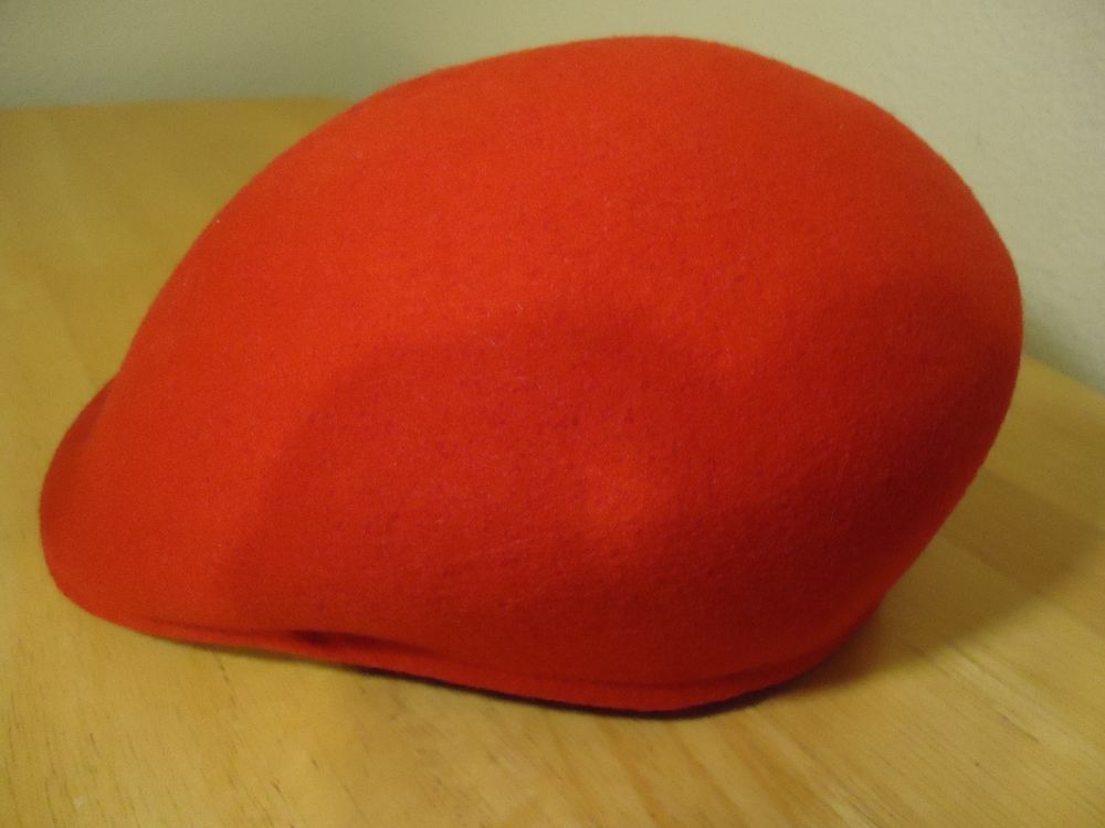 a2c7c7484 Stetson cuffley cap red size l made in england 100%wool | Stuff to ...