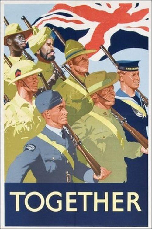World War 2 British Propaganda Poster, no title or artist ...