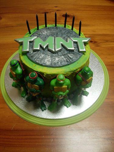TMNT Cake Tmnt cake TMNT and Cake