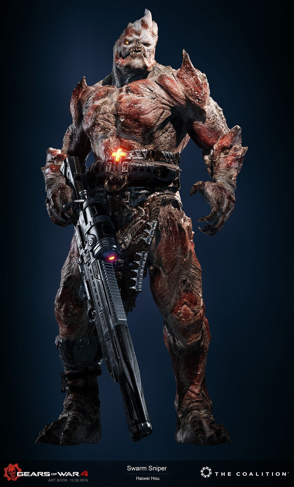 Pin De Sam En Monsters Gears Of War Imagenes De Videojuegos Personajes De Fantasia