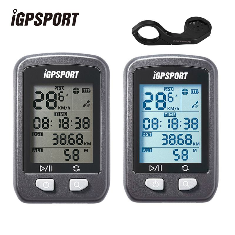 Bicycle Gps Computer Waterproof Ipx6 Wireless Speedometer Digital