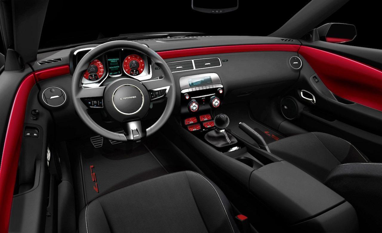 2016 camaro interior spyshot photos - Camaro 2016 Interior