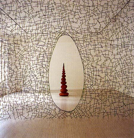 Andy Goldswarthy, British (b.1956)_Andy Goldsworthy creates outdoor sculpture…