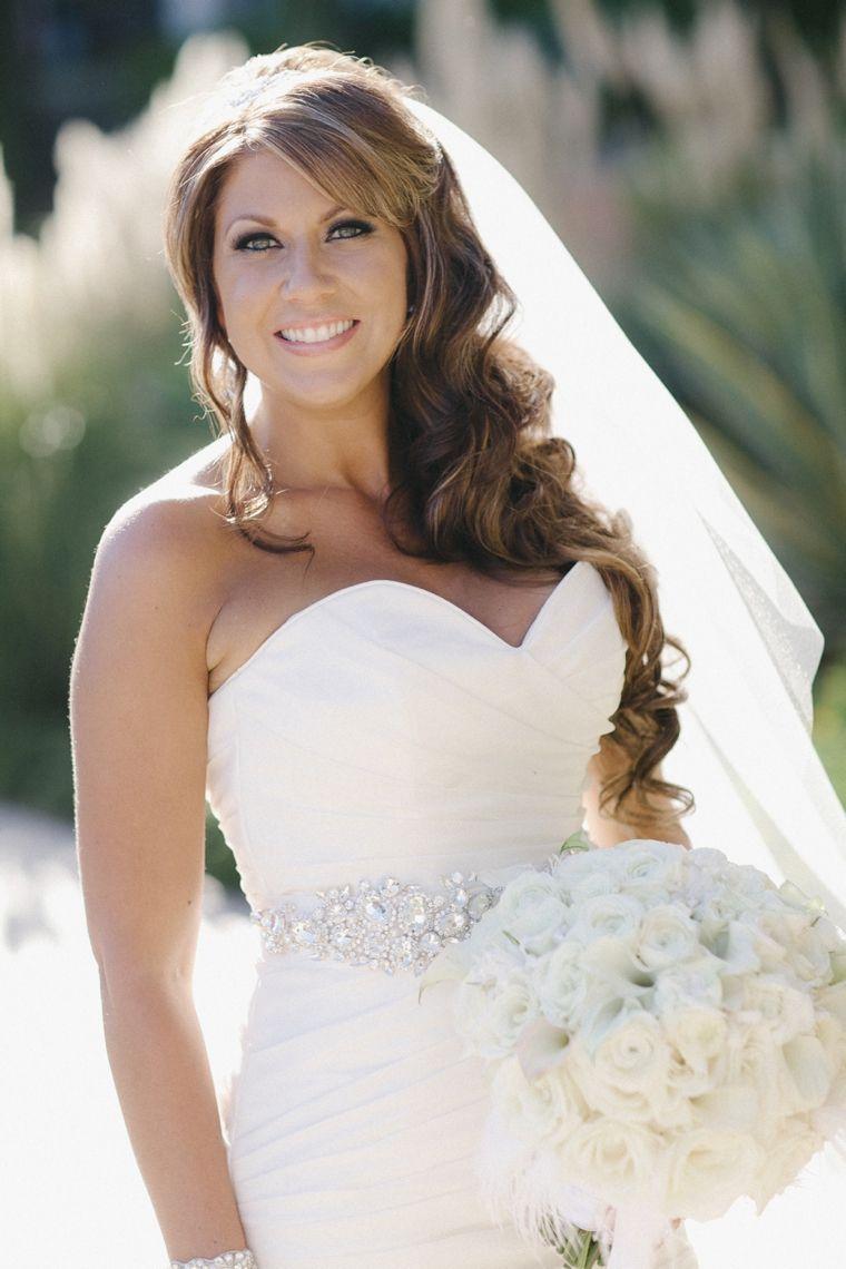 A Glamorous Black and White Wedding | White bridal, Wedding and ...