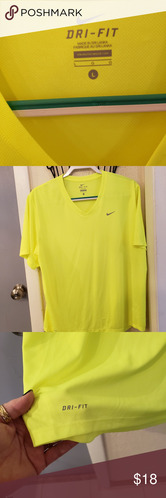 Nike Dri Fit Neon Shirt Neon Shirts Shirts Dri Fit Shirt Explore popular vacation package destinations. pinterest