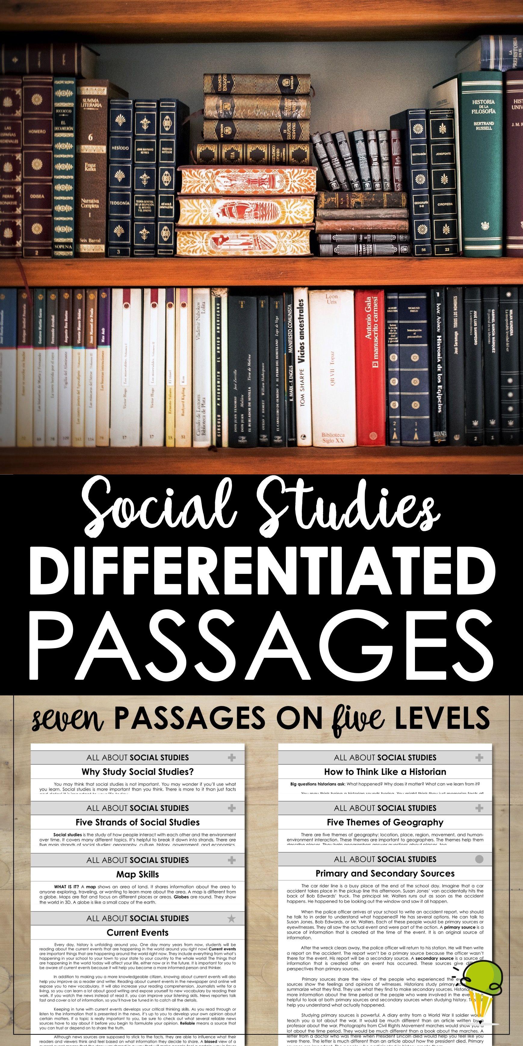 Social Stu S Passages