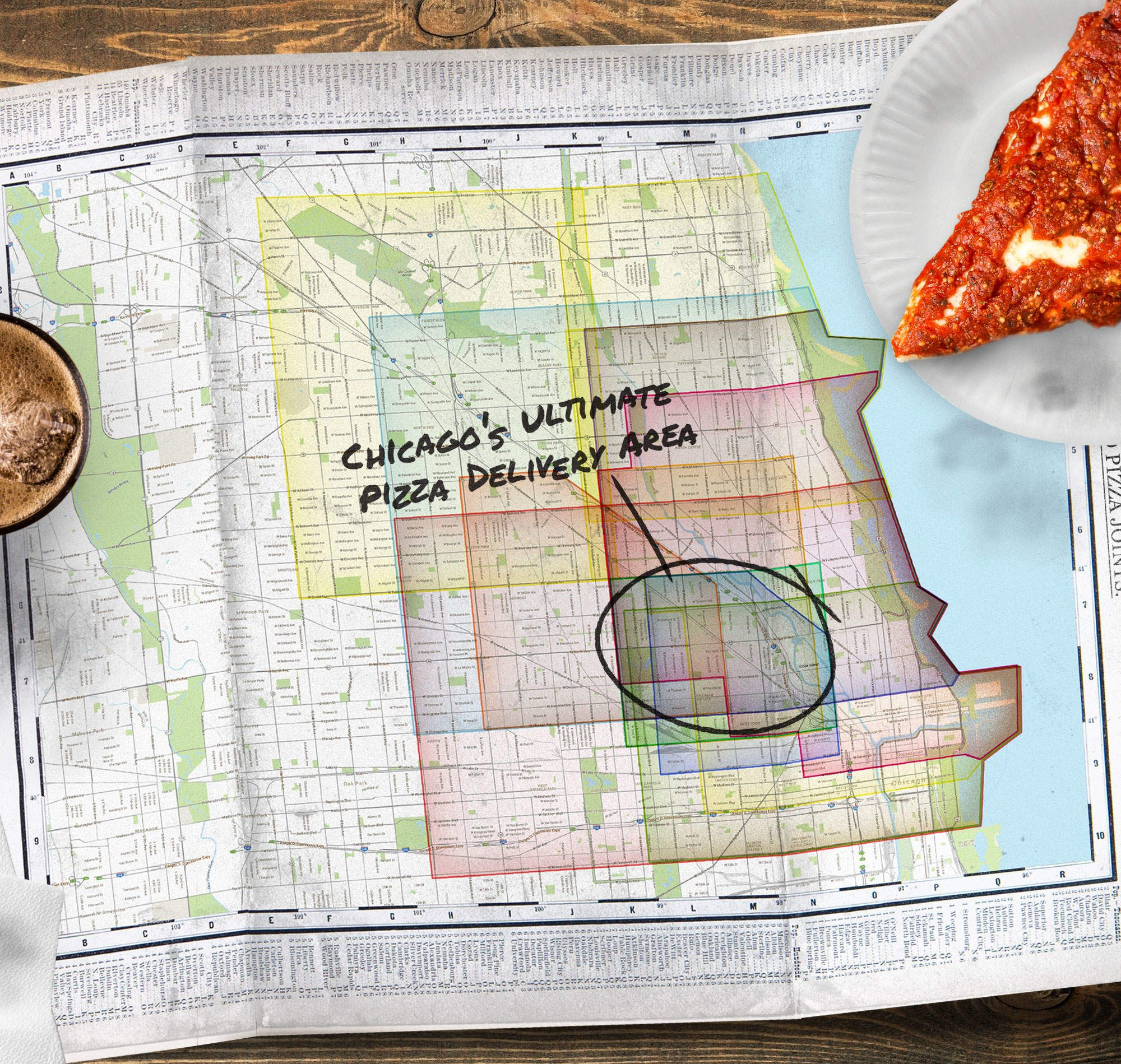 What Is the Holy Grail of Chicago Pizza Delivery Addresses?