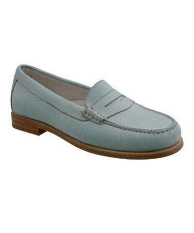 Spearmint Leather Loafer by G.H. Bass & Co #zulily #zulilyfinds