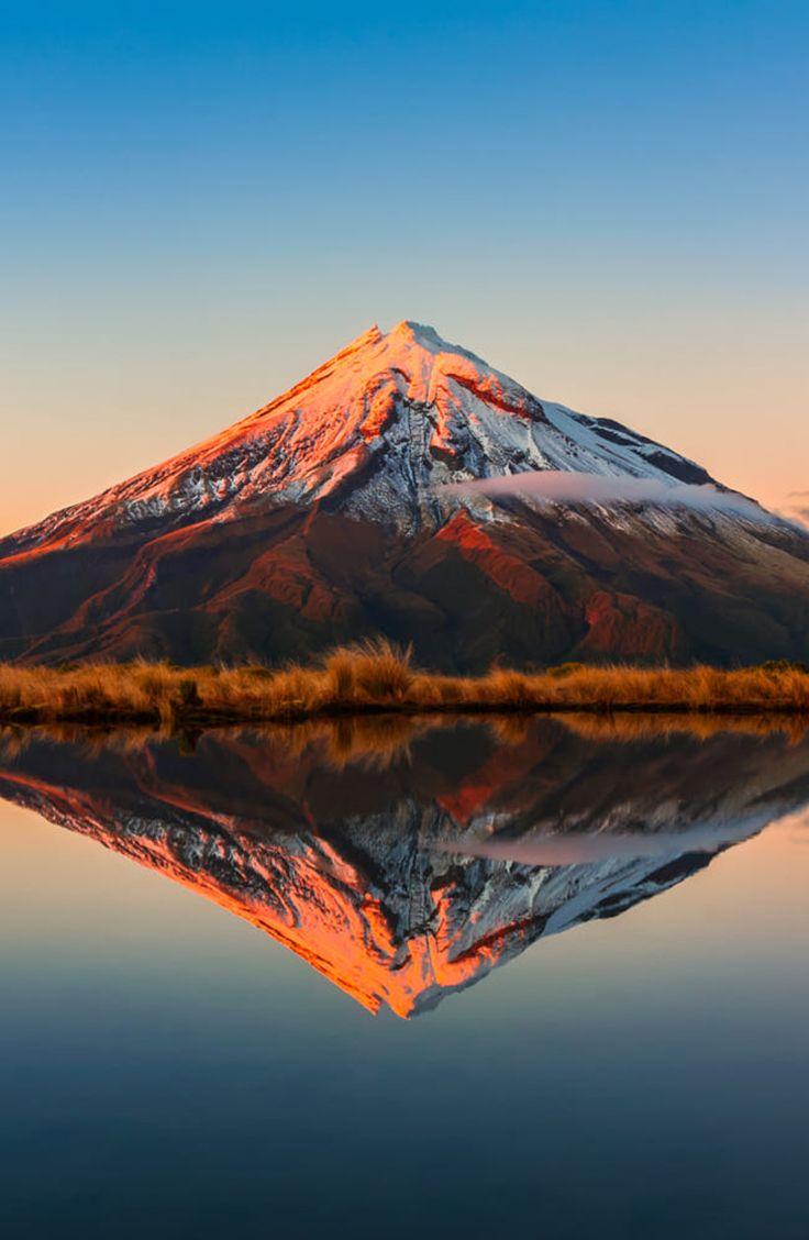 Mt Taranaki Beautiful Landscapes Mountain Landscape Mountain Photography