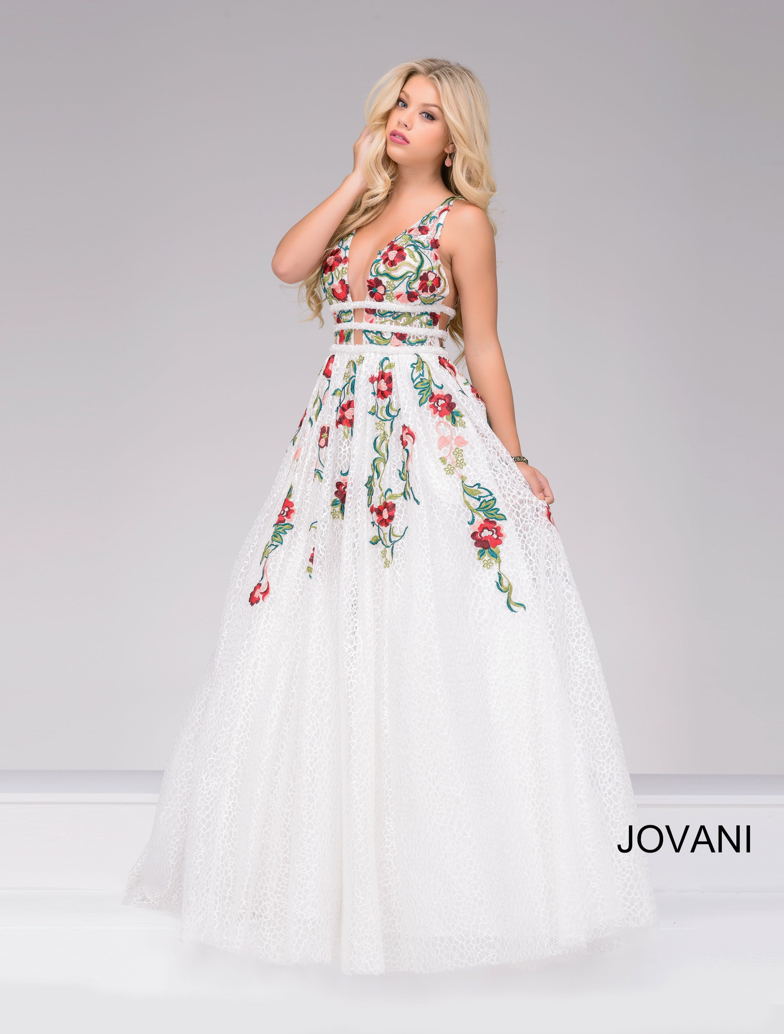 Jovani style 48891 is fun and flirty. available at WhatchamaCallit ...