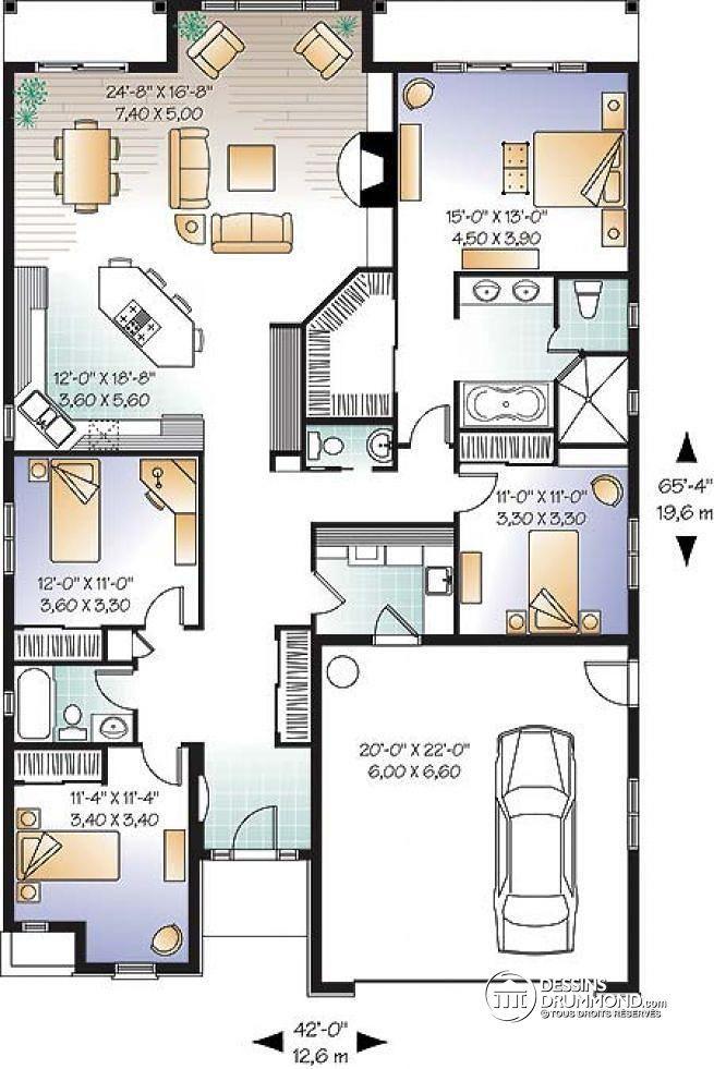 Plan De Maison Unifamiliale Infos Et Ressources