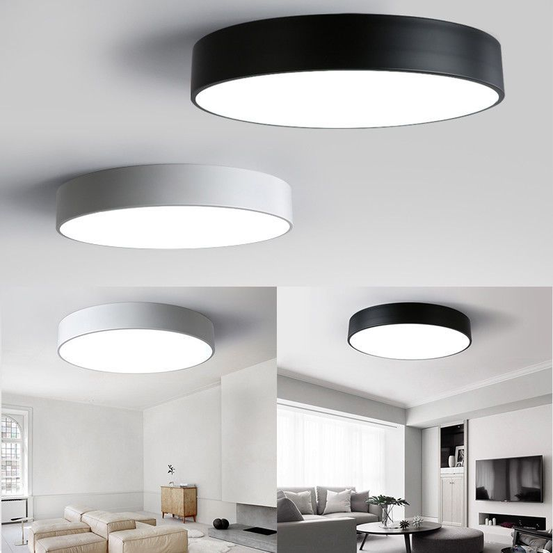 1 0aud 18w 24w Led Ceiling Light Bedroom Living Room Surface Mounted Retro Fixtures Ebay H Ceiling Lights Led Ceiling Lights Light Fixtures Bedroom Ceiling
