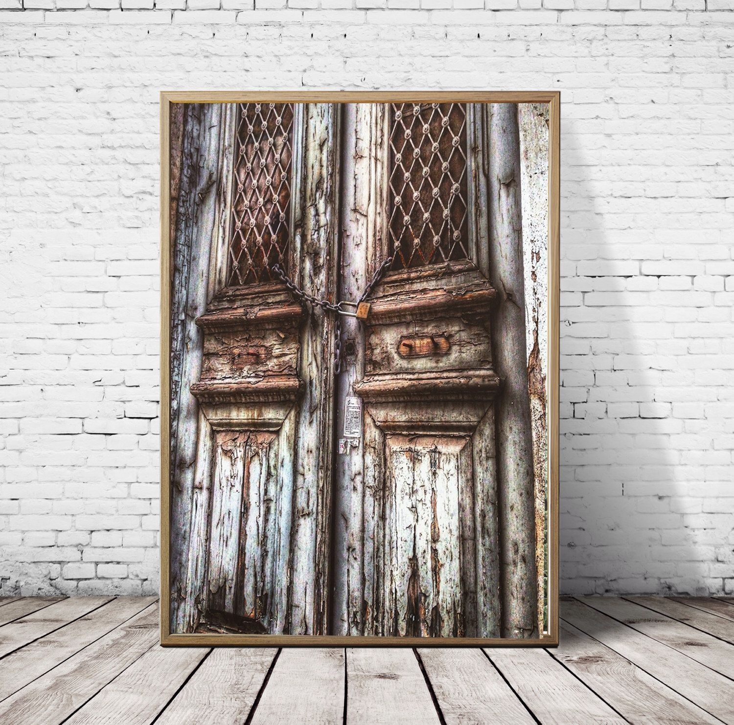 Rustic Door photography Greece print Wooden Door wall art vintage lock  photography door wall decor athens doors fine art print or digital by S4StarSbySiSSy on Etsy https://www.etsy.com/ca/listing/294888331/rustic-door-photography-greece-print