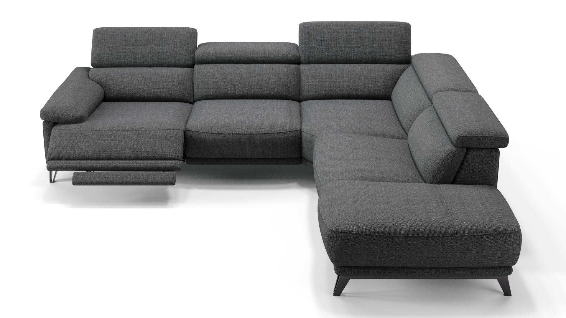 Dieses Ecksofa Mit Sitztiefenverstellung Sorgt Fur Besondere Annehmlichkeiten Lassen Sie Sich Von Dem Schonen Stoff Sofa M Sofa Mit Relaxfunktion Sofa Relaxen