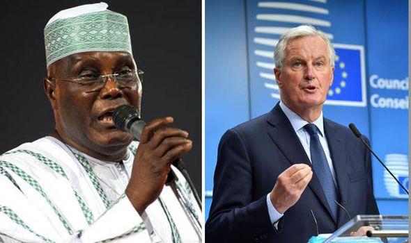 Africa longs for Brexit says ATIKU ABUBAKAR