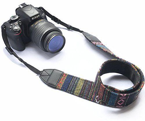 Trendy Design Camera Strap Colorful Design DSLR Universal