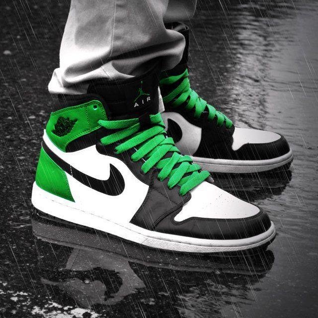 53cf22ee401bfd Air Jordan 1 High Retro Boston Celtics. The only pair of jordons ill ever  wear