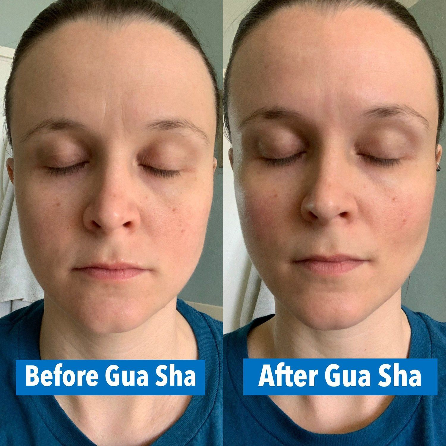 How To Do Facial Gua Sha For Lymphatic Drainage and Anti-Aging Benefits —  The Curious Coconut | Facial puffiness, Gua sha facial, How to do facial