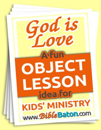 Fun Object Lesson on Love for Kids {The Fruit of the Spirit