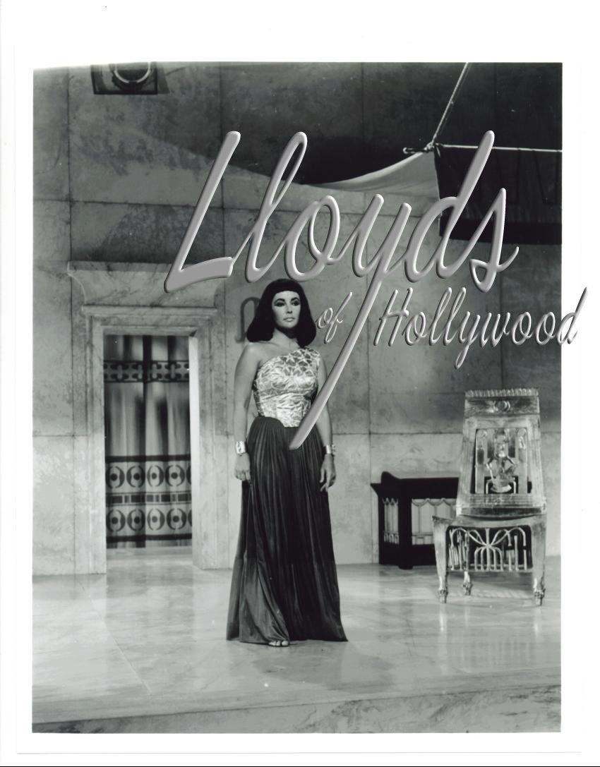 Elizabeth Taylor Cleopatra in Temple Palace Scene Costume Test Photograph 1962 | eBay