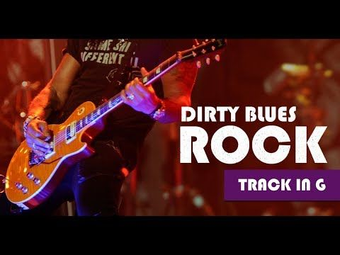 Dirty Groovy Blues Rock Guitar Backing Track Jam in G