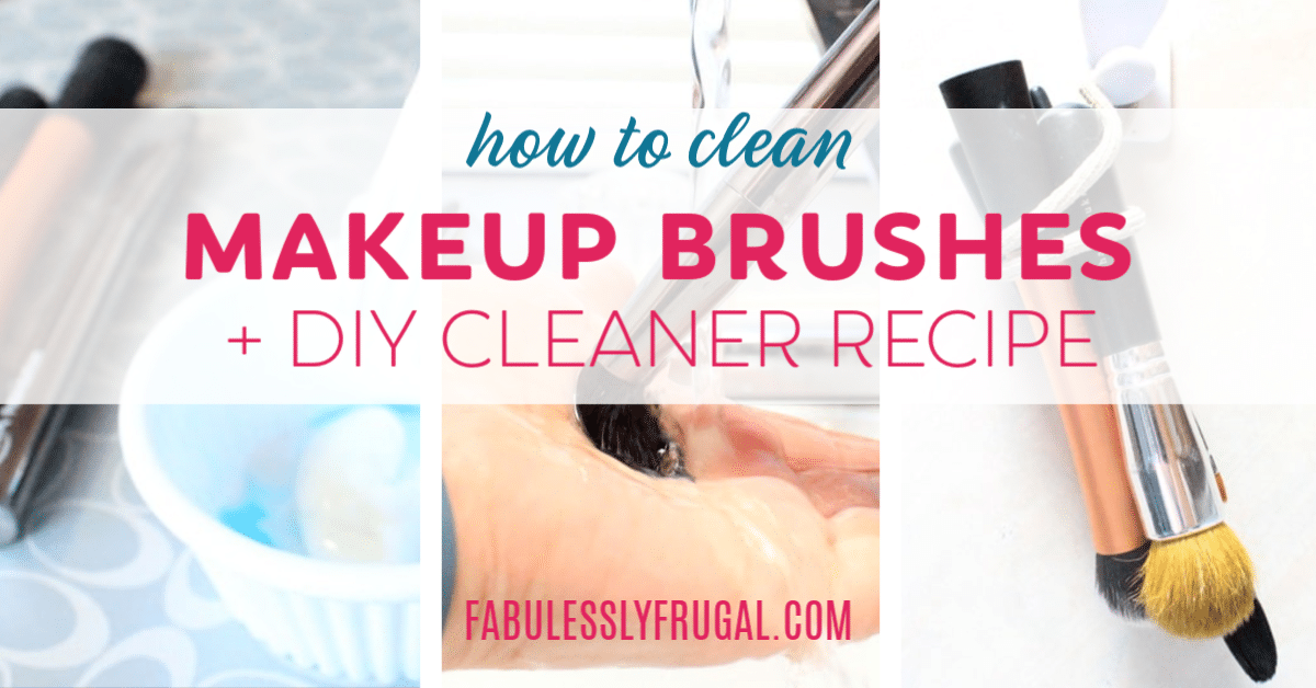 Photo of How to clean makeup brushes (DIY makeup brush cleaner) – fabulessly economical …