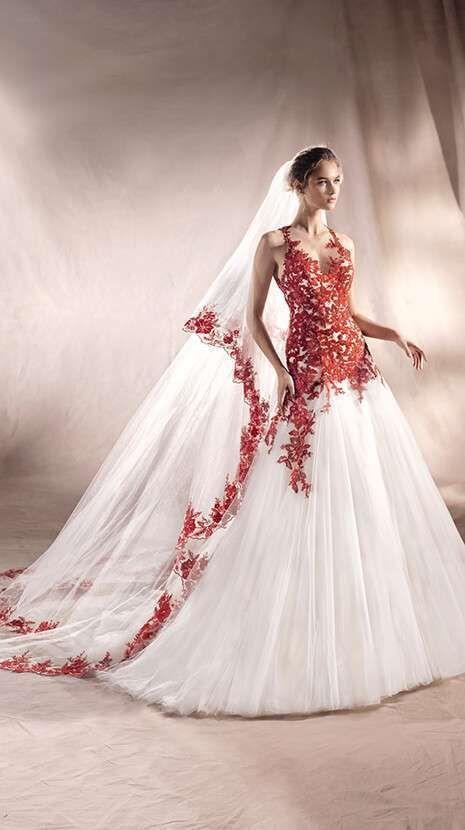 vestidos de novia white one: fotos colección 2017 - vestido blanco y