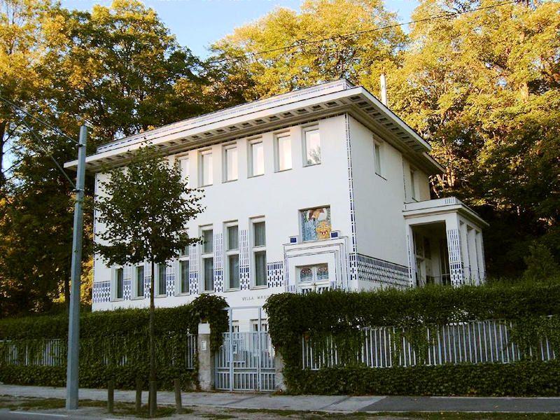 Abuildingaday The Second Wagner Villa Otto Wagner Vienna