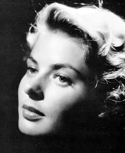 Ingrid Bergman #hollywoodstars