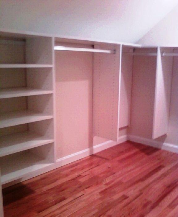 Custom Closet Greater Boston California Closets Diy Walk In Closet Build A Closet Attic Bedroom Designs