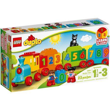 Lego Duplo My First Number Train 10847 Nursery Toys Lego Duplo