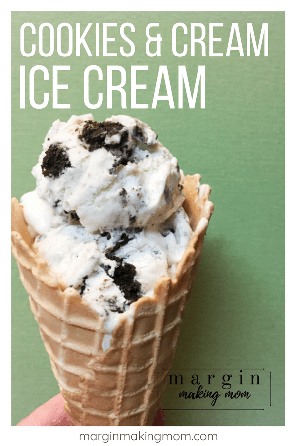 No Churn Cookies And Cream Ice Cream Is A Super Simple Homemade Ice Cream That Doesn T R Homemade Ice Cream Recipes Easy Homemade Ice Cream Impressive Desserts